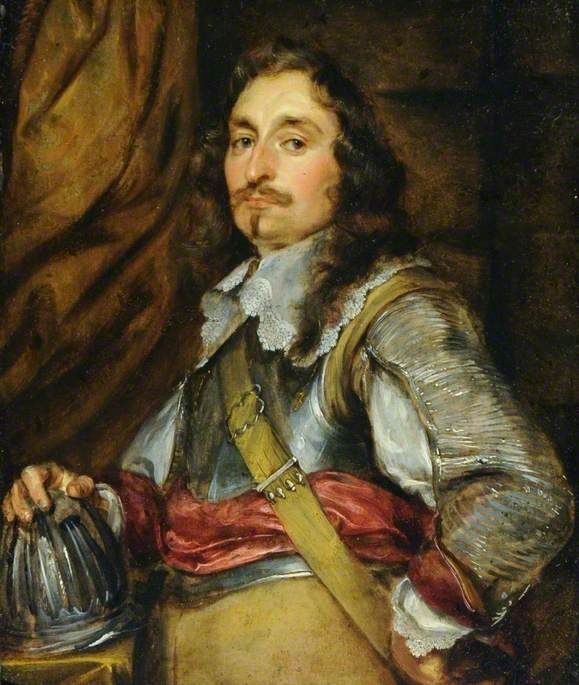 Portrait of an Officer in Armour by Gonzales Coques ...