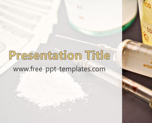 drugs powerpoint template is a white template with appropriate
