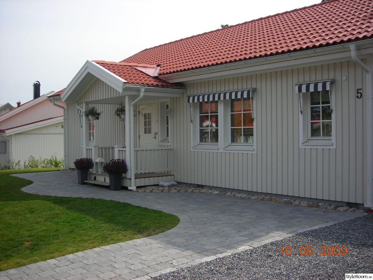 framsidan av huset | Huset | Pinterest : beckers silikatfärg : Inredning