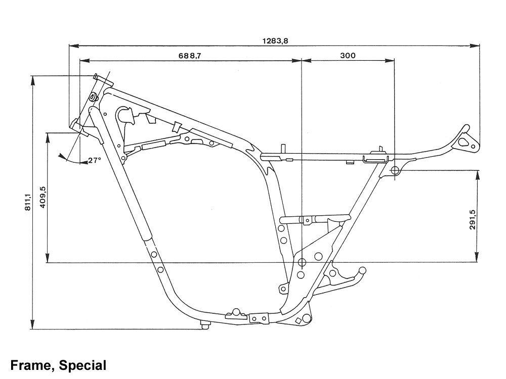 Honda Cb750 Frame Dimensions | hobbiesxstyle