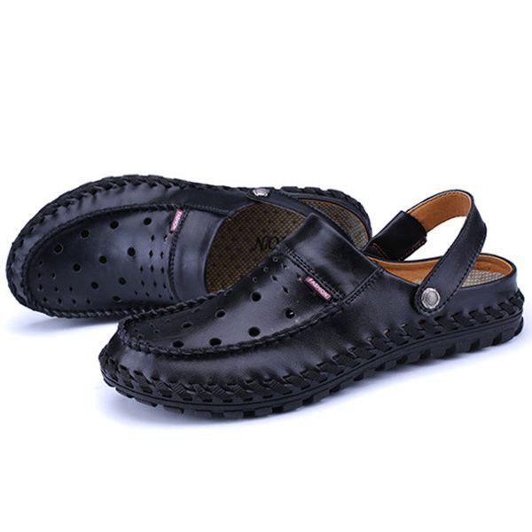 79eccfdc7ecdf Brand  No Shoe Type  Sandals Toe Type Round Toe Closure Type  Slip On  Gender  Male Occasion  Casual