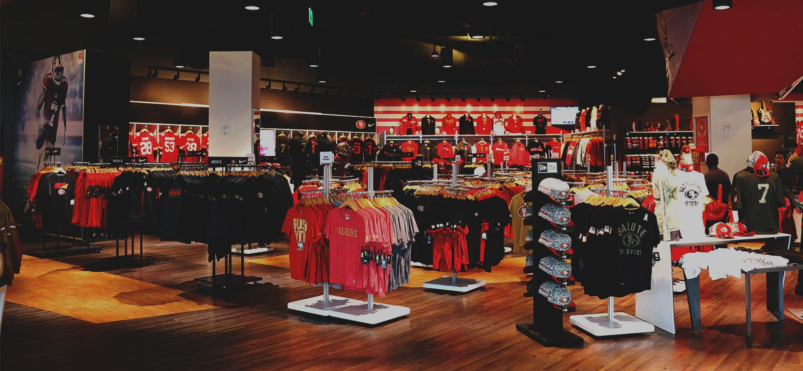 6740dd084 The 49ers Flagship Team Store at Levi s® Stadium. The stadium store  features more than 13