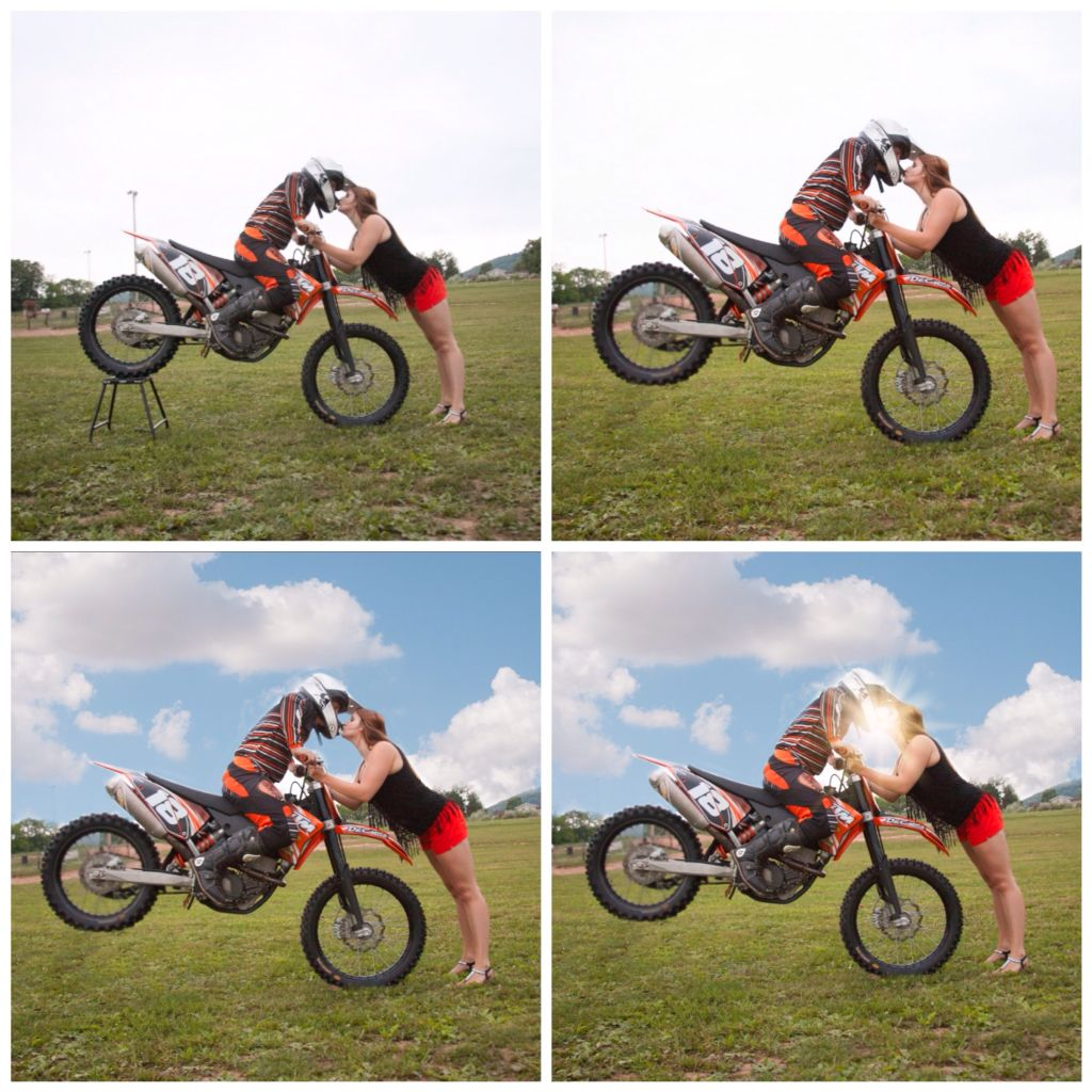 How To Create A Stop Kiss 1 Place Bike Off The Ground On A Stand