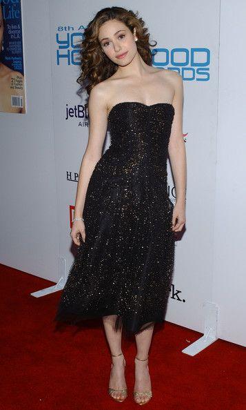 f46bb84490a Emmy Rossum Shirtdress - Emmy Rossum Looks - StyleBistro