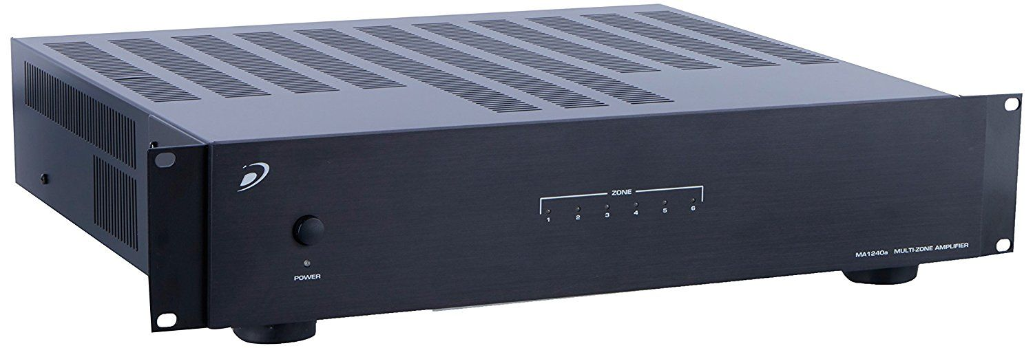 Amazon Com Dayton Audio Ma1240a Multi Zone 12 Channel Amplifier Home Audio Amp Theater Dayton Audio Home Theater Installation Audio