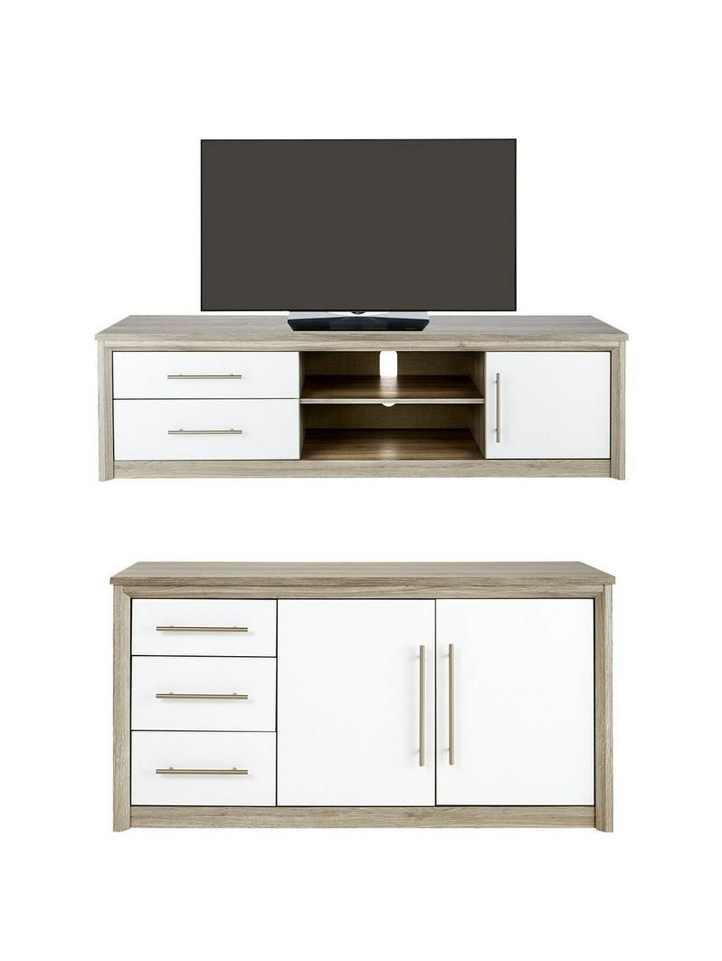 Consort Jupiter 2 Piece Ready Assembled Package Large Sideboard  # Muebles Jupiter