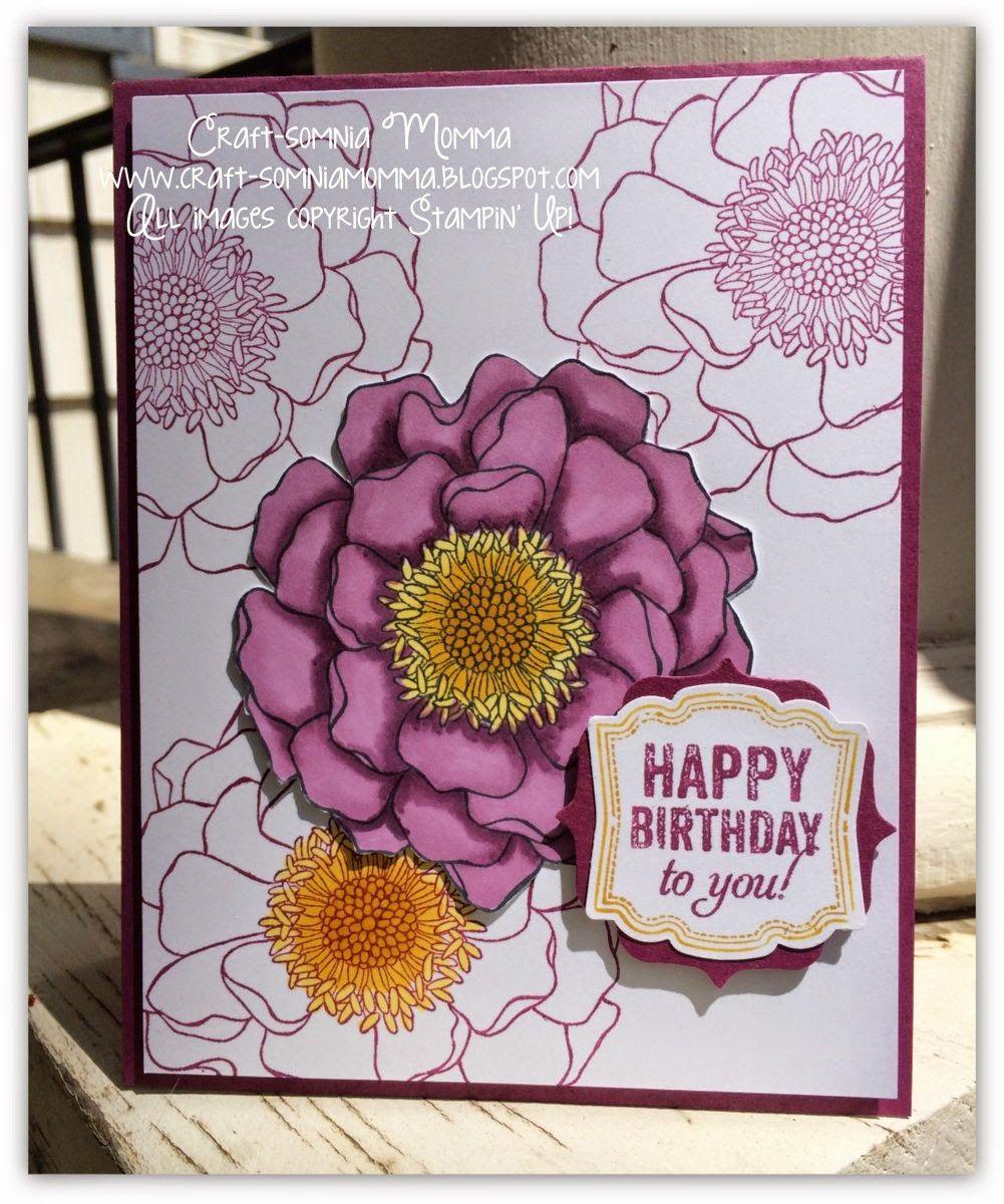 Blended Bloom Birthday