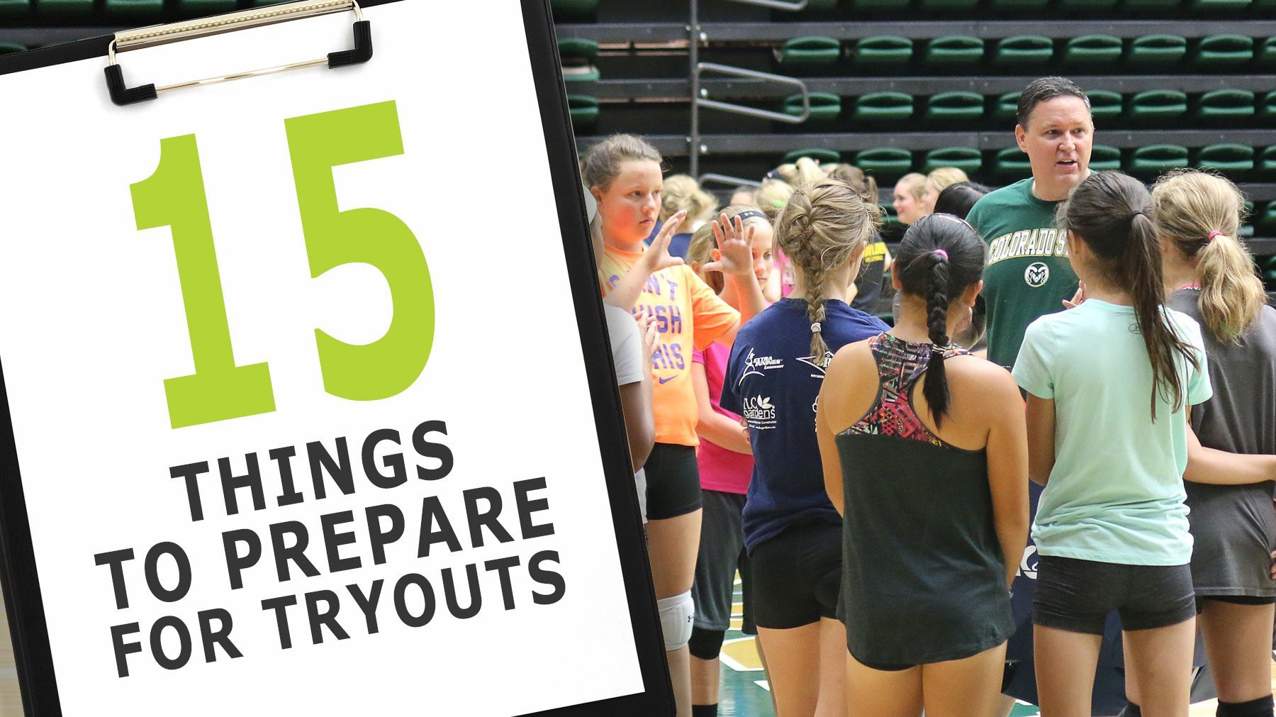 15 Things You Ll Need To Run A Great Tryout Volleyball Tryouts Coaching Volleyball Volleyball