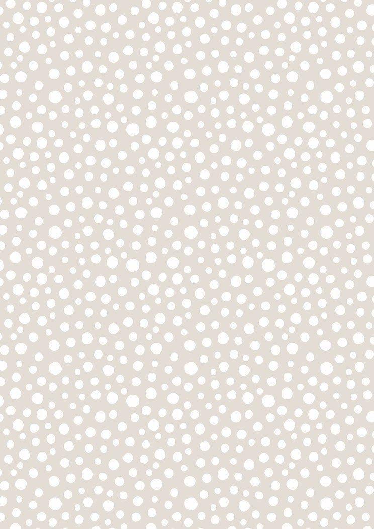 Lewis & Irene Snow Day Fabric Collection Snow Fall on Dark Cream QSQ100% Cotton