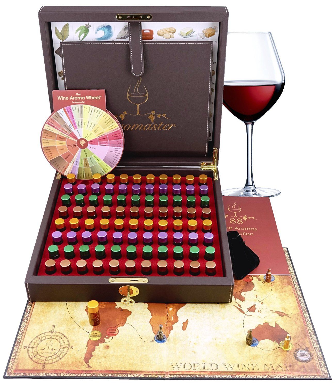 Master Wine Aroma Tasting Kit Retirement Gift Ideas Wine Aroma Kit Wine Scent Wine Games
