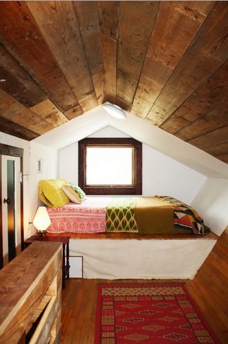 Hide Away In A Rustic Attic Nook All Of Your Own Reading Books