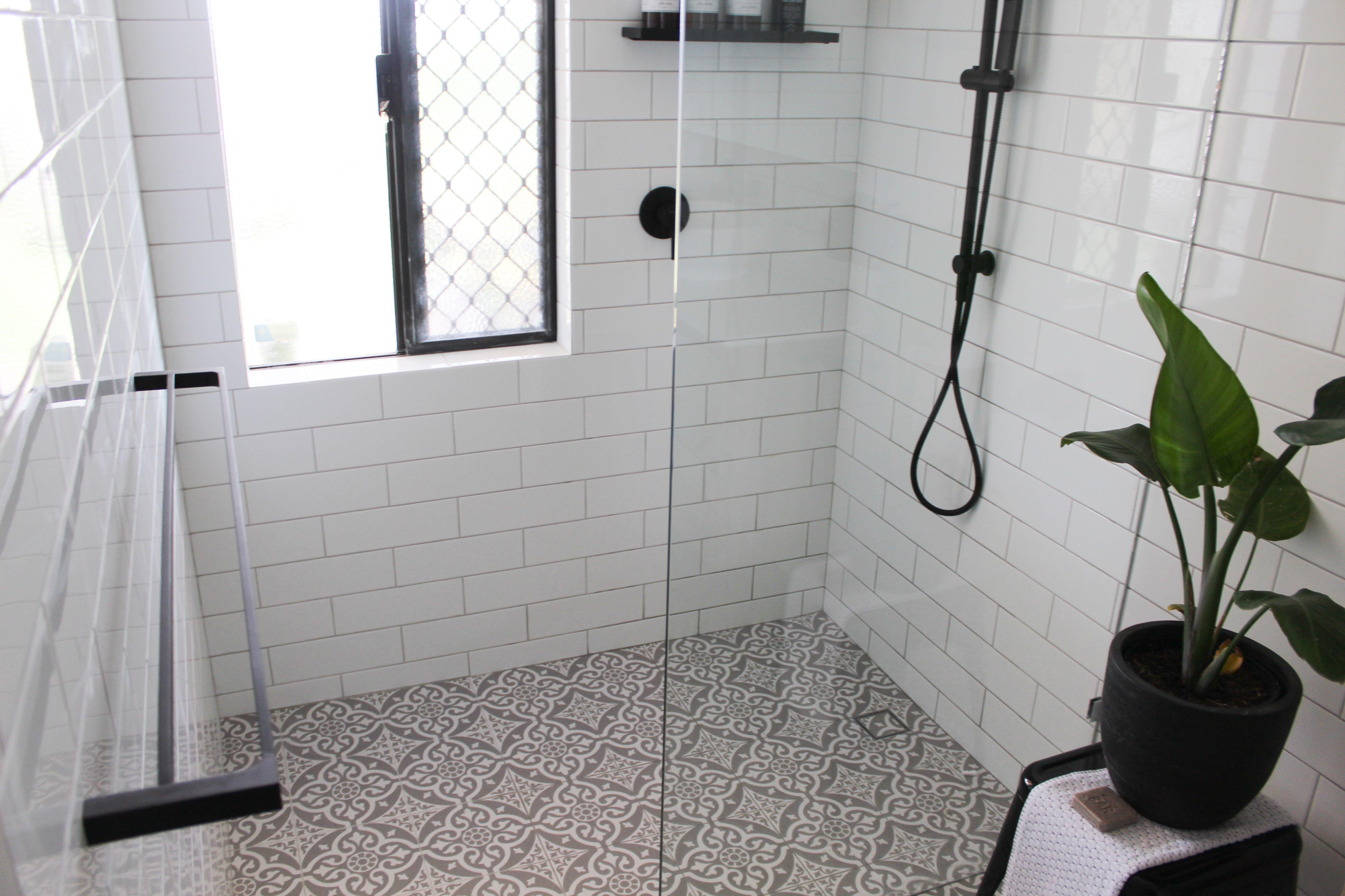 Subway Tiles - Encaustic Floor - On the Ball Bathrooms ...