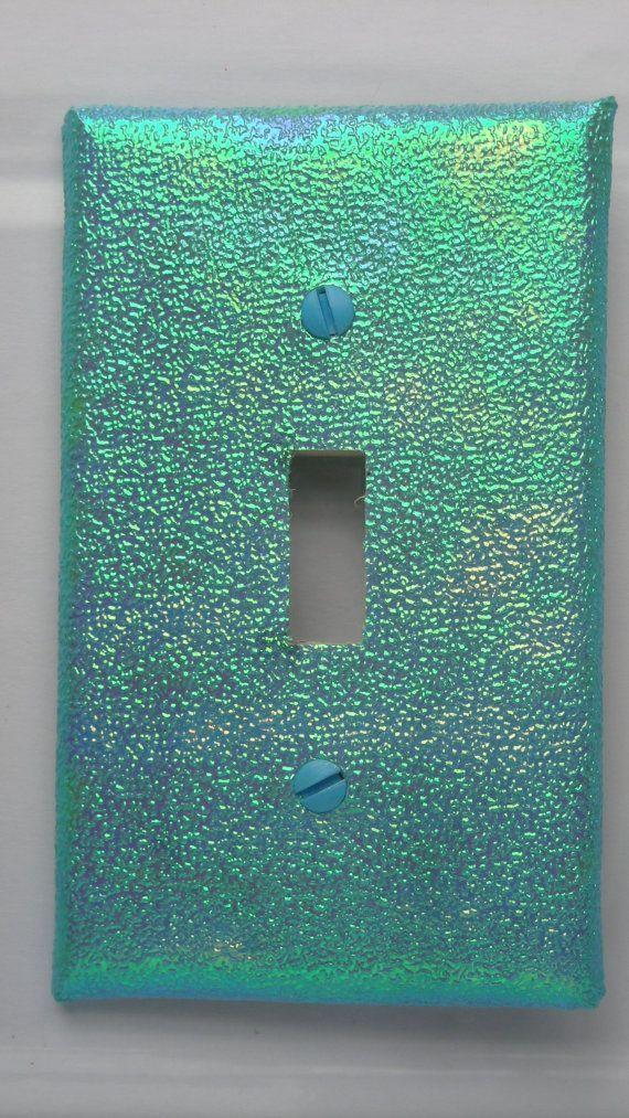 Mermaid Party Decorative Light Switch Cover Single by Nikalette, $7.00 #mermaidbathroomdecor