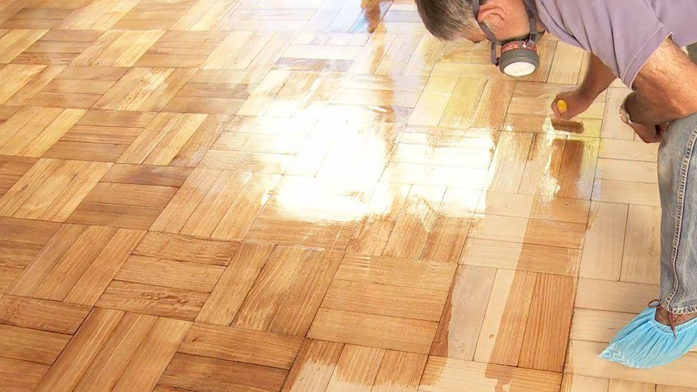 Reparar y vitrificar los pisos de madera es una labor que - Reparar piso parquet ...