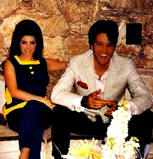 Wedding Family Photo List: Elvis And Priscilla On The Eve Of Their Wedding Day