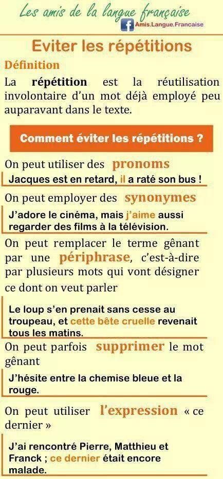 ecrire langue francaise sur cv