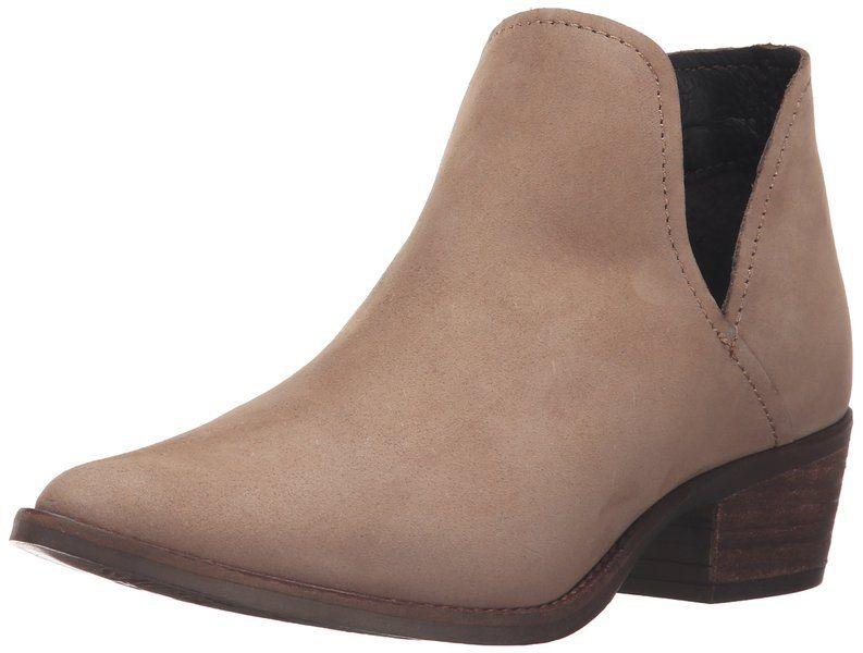 Steve Madden Women's Austin Ankle Bootie, Stone Nubuck, ...