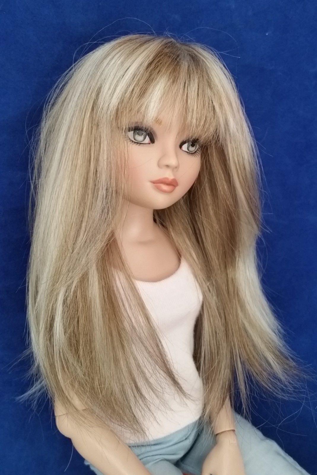 Monique HEART Wig 6//7 for Senson Ellowyne Pukifee Doll Iplehouse REDDISH BLONDE