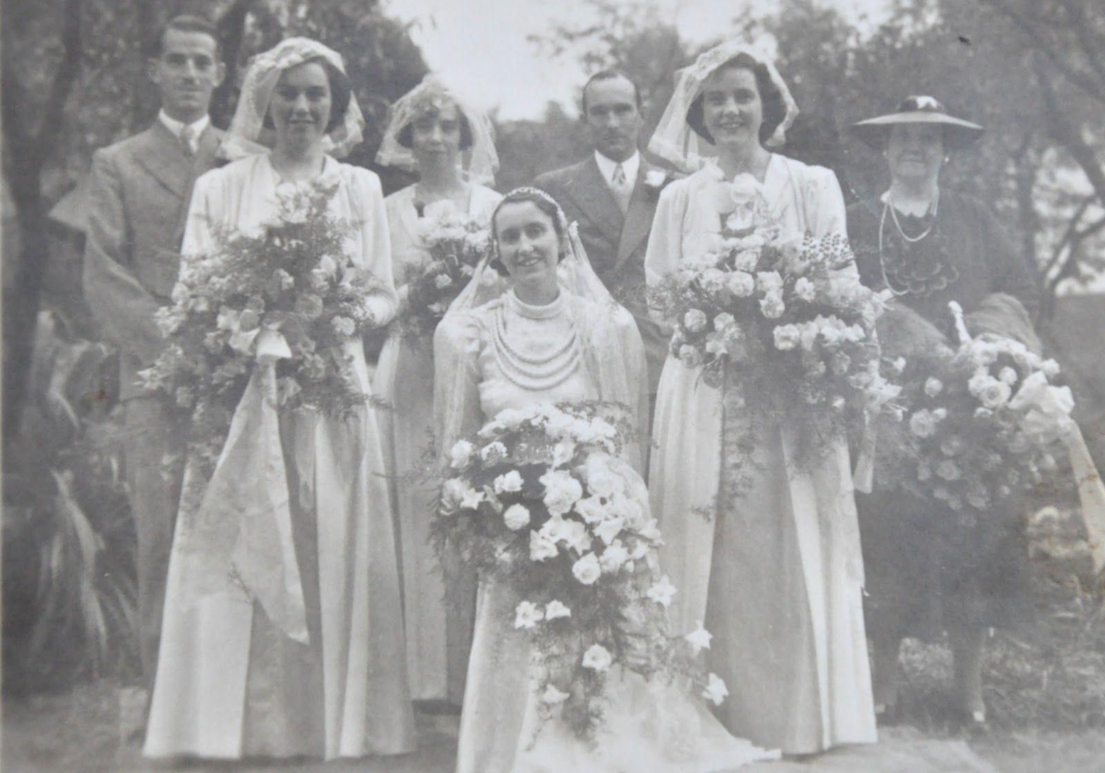 1938WEDDING Catholic marriage, Traditional catholic