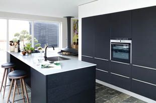 Zwart Keuken Kvik : Pin van elana clark op kitchen and bathroom inspiration and items