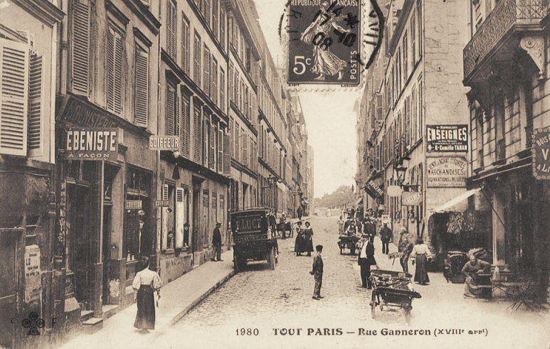 rue Ganneron - vers 1900