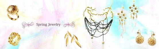 Spring Jewelry Ayaka Nishi http://www.ayakanishi.com/collections/spring-jewelry