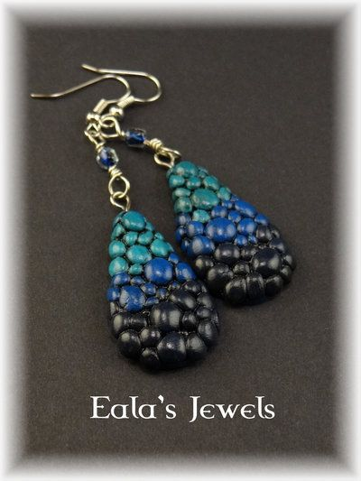 Draig-uisgue earrings by Shatiel85.deviantart.com on @DeviantArt