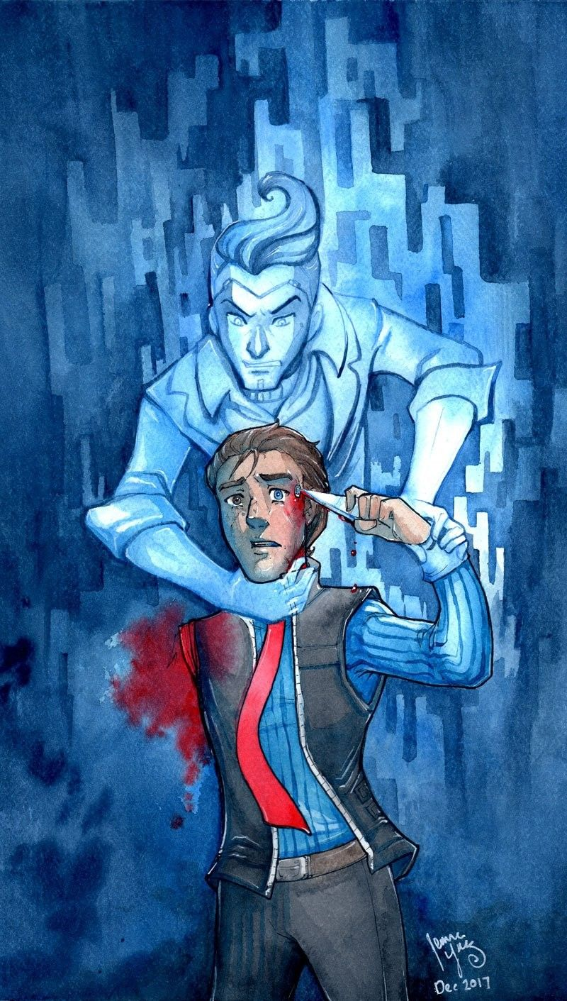 Rhys And Handsome Jack From Tales From The Borderlands