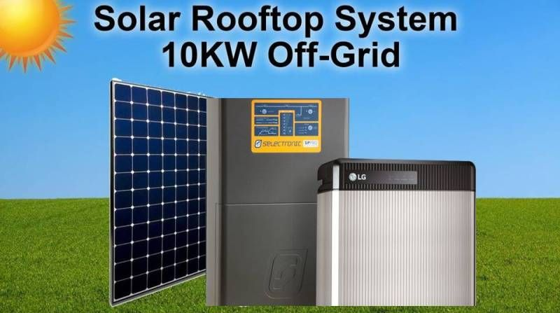 10kw Solar System With Battery Backup Solar Solar System Battery Backup