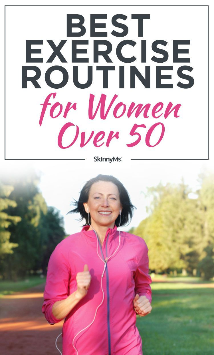Best Exercise Routines for Women Over 50 | Everyday