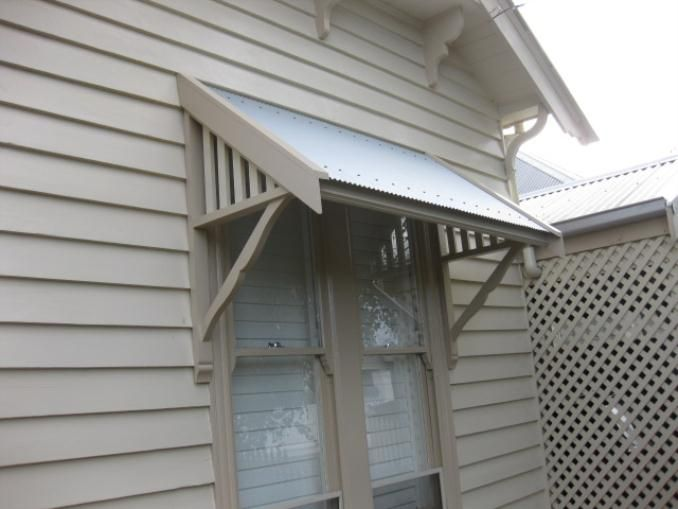 Timber Window Awning Installation   Iu0027m Confused!