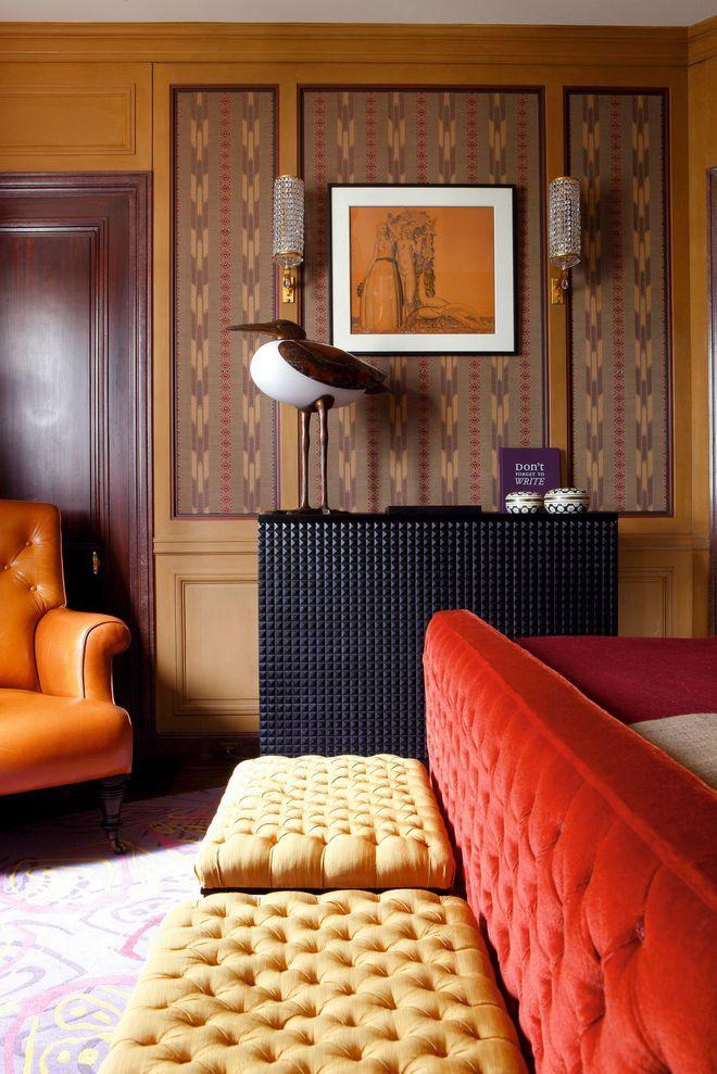 Détails de la décoration de la chambre Salon et canapés Pinterest