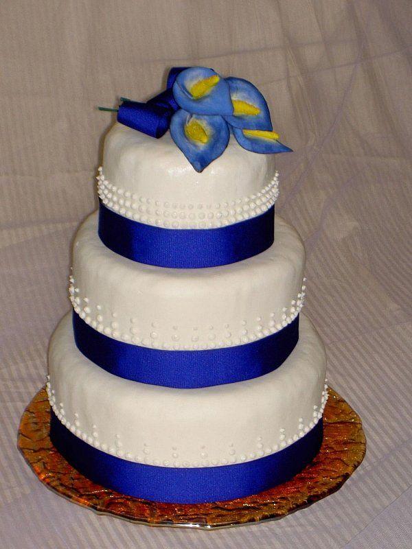 wedding cake designs 2014 | Royal Blue Wedding Cakes with Wedding ...