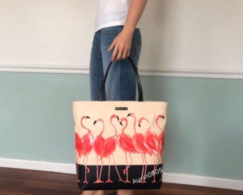 Statement Bag - flamingo-20 by VIDA VIDA 2QKDk8olFM