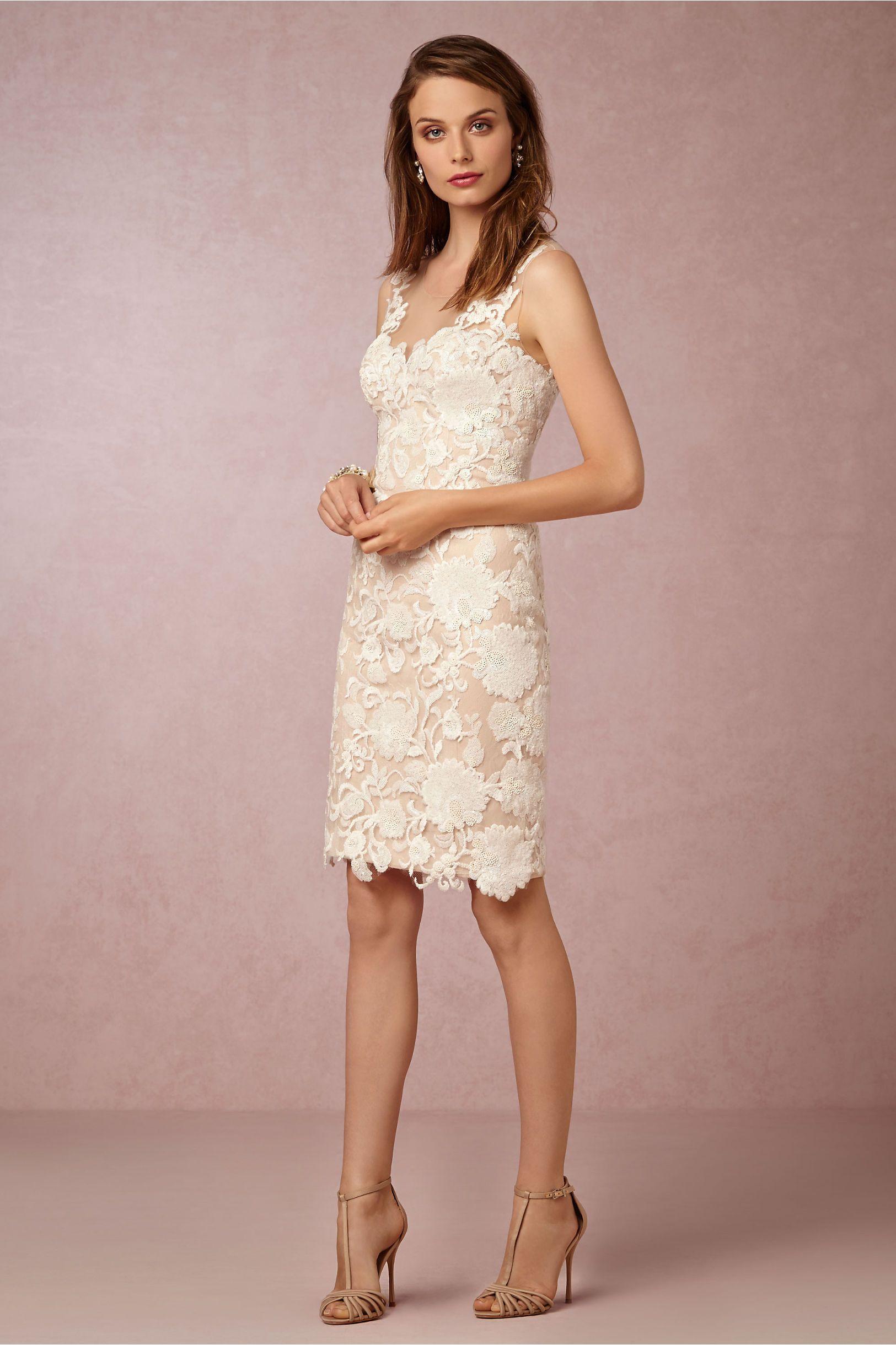 BHLDN Renata Sheath in Bride Reception Dresses at BHLDN | Stylish ...
