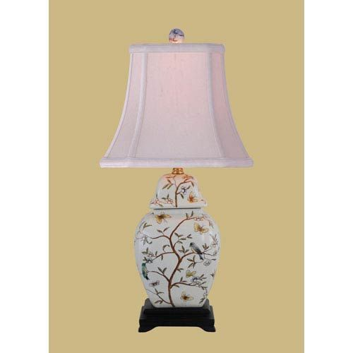Porcelain jar lamp east enterprise accent lamp table lamps lamps