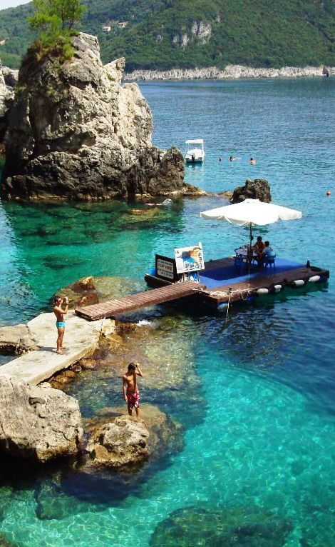 #La_Grotta_Cove, #Corfu_Island, #Greece http://en.directrooms.com/hotels/subregion/2-55-421/