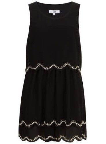 516682b9965 True Decadence Scallop Sequin Dress Black Size UK 12 rrp 60 DH182 LL 03   fashion