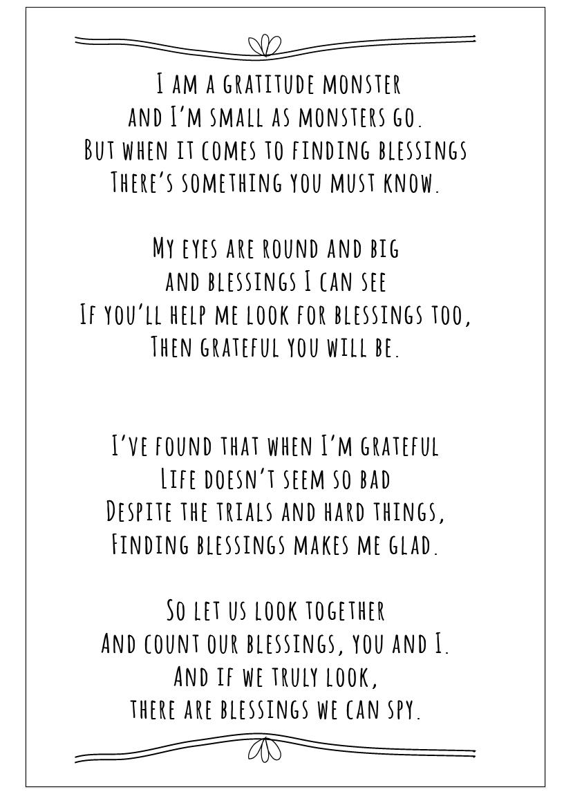 Poems About Gratitude 5