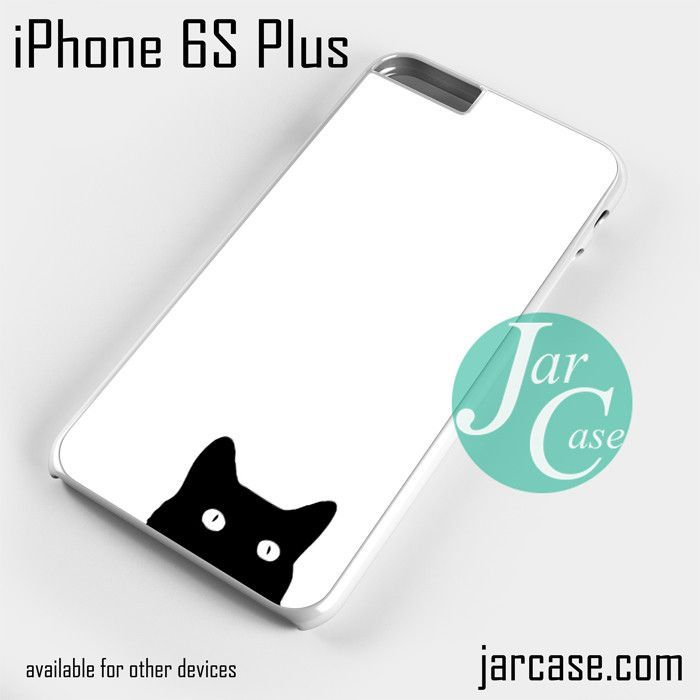 Watching black cat Phone case for iPhone 6S Plus and other iPhone devices
