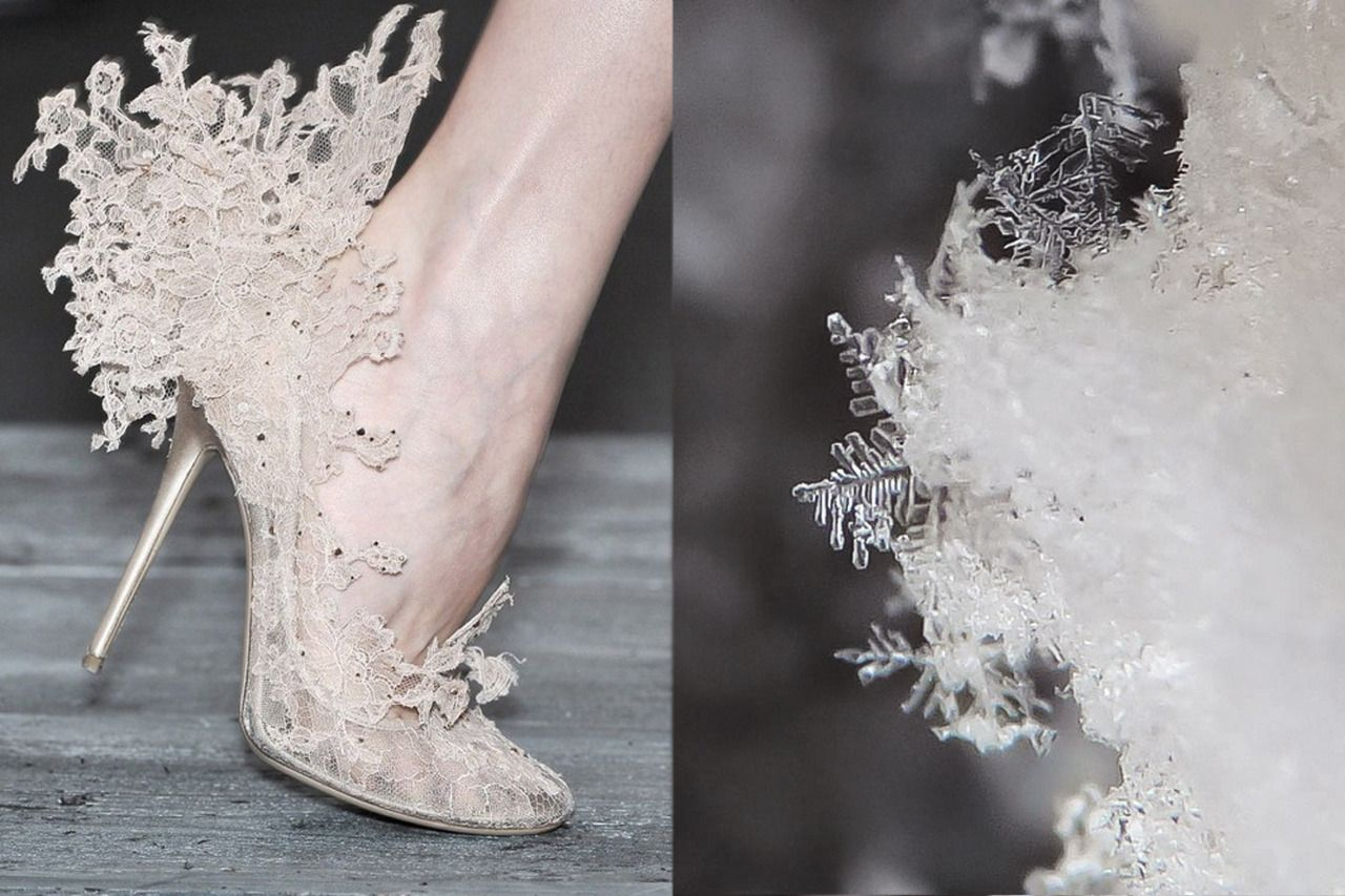 """whereiseefashion: """" Match #68 Shoes by Philip Treacy at Valentino Garavani RTW Spring 2010 