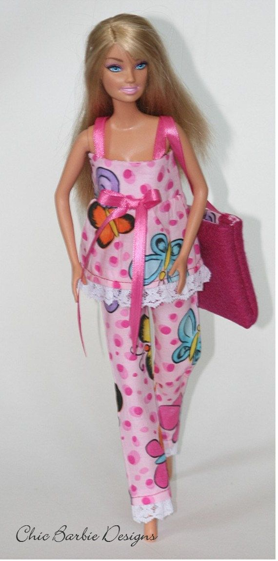 Doll Clothes For Barbie Pajamas Nightwear Underwear  Princess Fashion Vintage