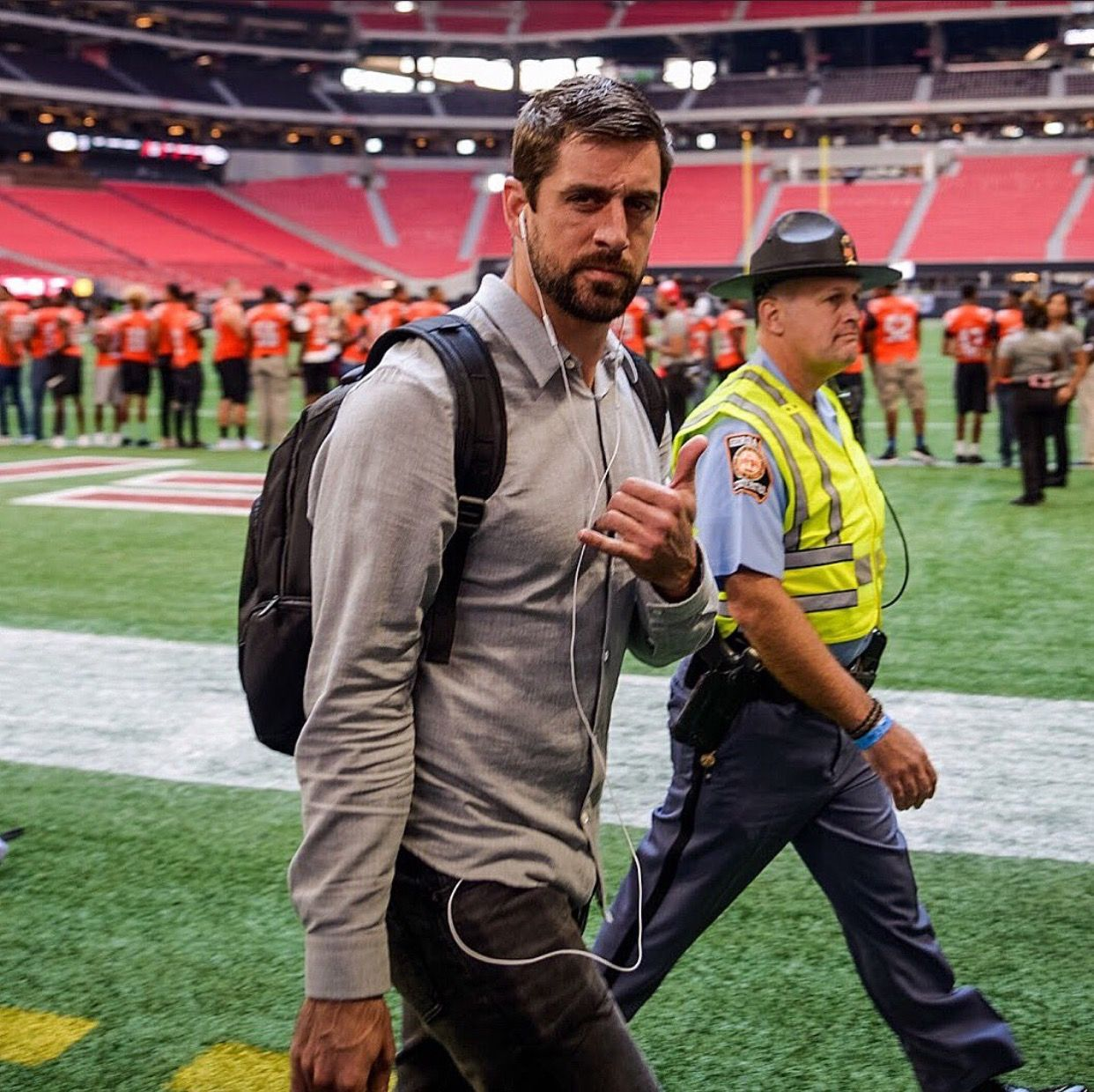 Gb Vs Atl 9 17 2017 Green Bay Packers Aaron Rodgers Green Bay