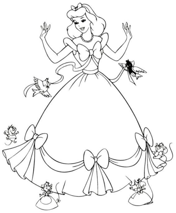 Pin by Helena Horňáčková on Kreslení Pinterest Kids coloring - new disney princess coloring pages sleeping beauty