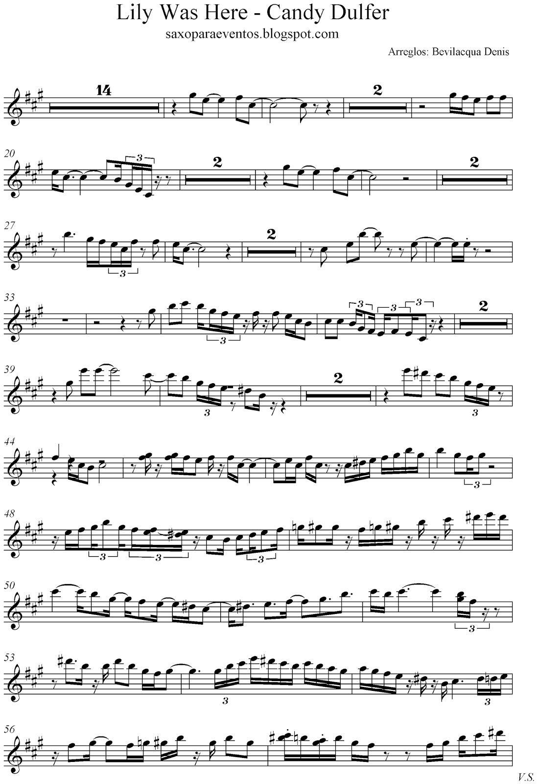 Candy Dulfer Lily Was Here 1 Saxofón Alto 0001 Bmp 1 099 1 600 Pixels Alto Sax Sheet Music Saxophone Sheet Music Free Sheet Music