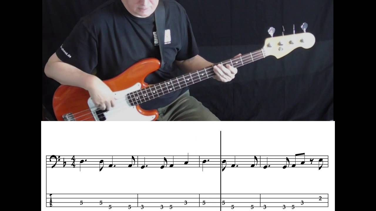 Sade Smooth Operator (Bass Cover with Tabs in Video