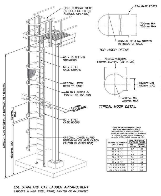 Standard Cat Ladder Arrangement Bcos I Don T Have Time