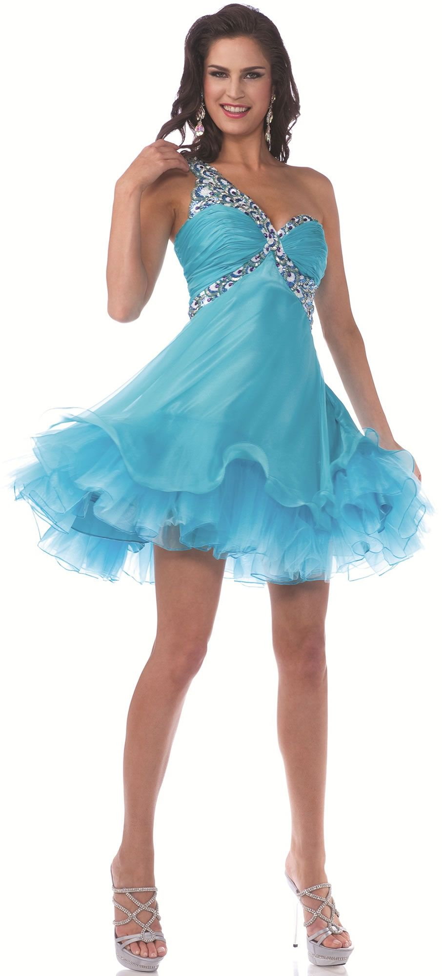 poffy prom dress | Adorable Poofy Prom Homecoming Dress with ...