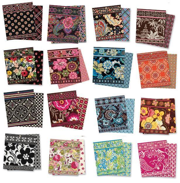 8c46fb826495 Vera Bradley patterns