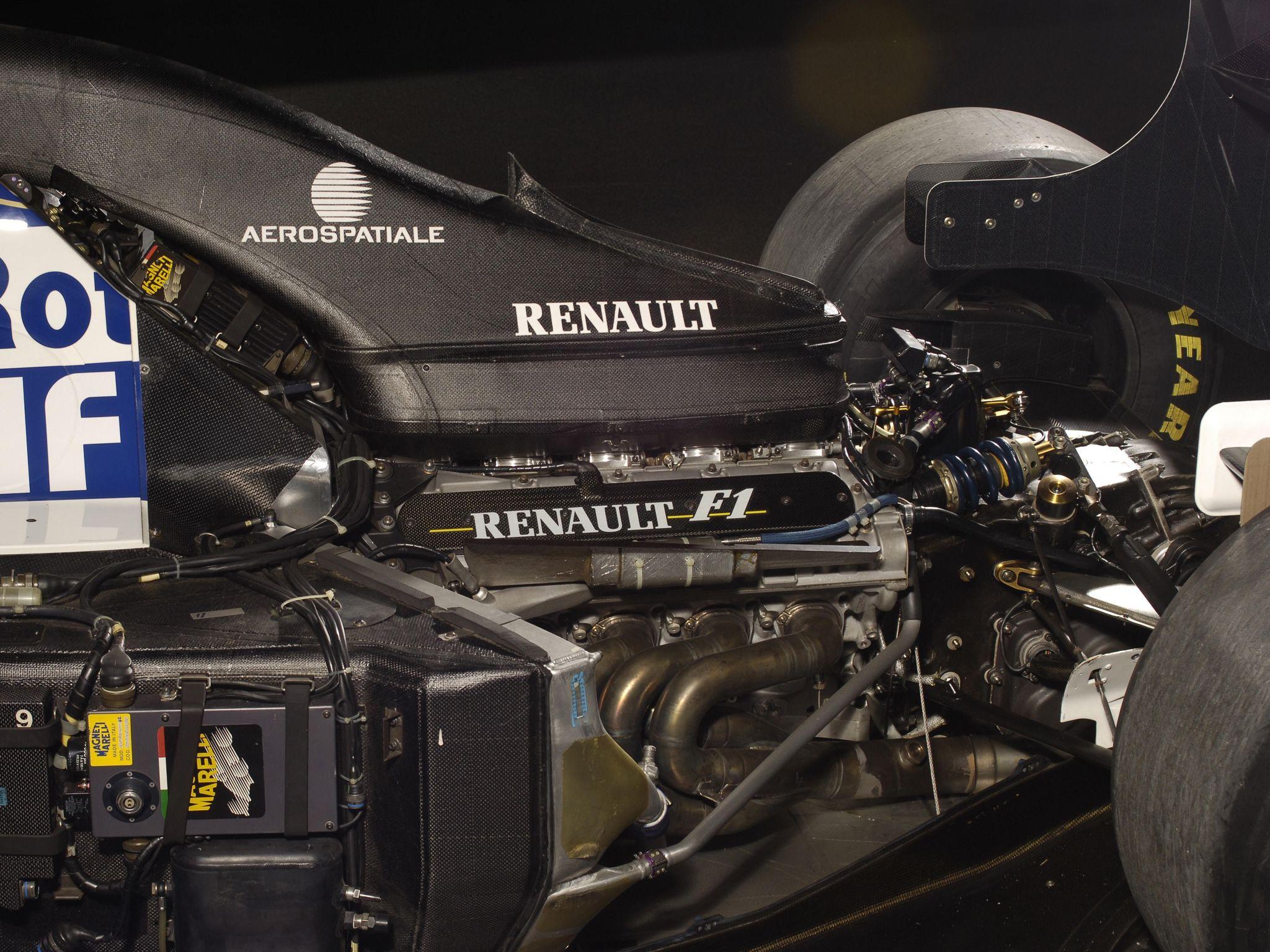 1994 Williams FW16B formula one f1 race racing renault engine – Diagram Of A Formula 1 Race Engine